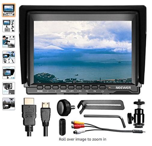 Monitor de Campo Neweer 7 pulgadas HD